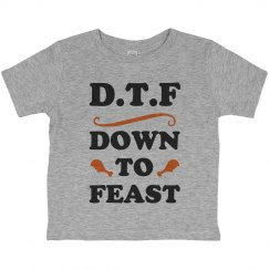 I Am Totally Down To Feast