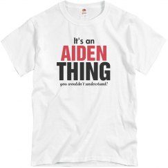 It's an Aiden Thing