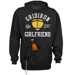 A Gridiron Football Girlfriend With Custom Number