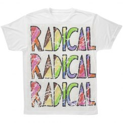 Radical Graphic Text Tee
