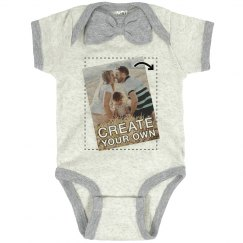 Custom Photo Upload Baby Shirt