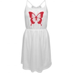Butterfly Strappy Dress