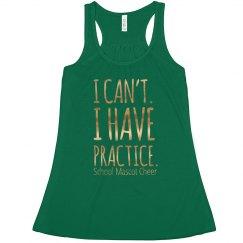 I Have Practice Tank