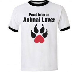 Proud animal lover