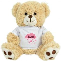 Bette Valentine Bear