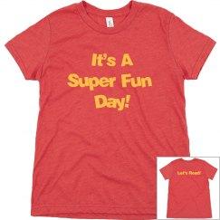 Youth Super Fun Triblend