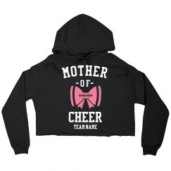 Custom Cheer Mom Sporty Crop