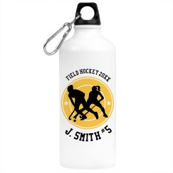 Field Hockey Water Bottle