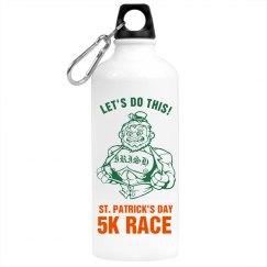 St. Patrick's Race Bottle