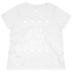 Custom Plus Size Ugly Christmas Sweater