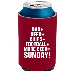 Dad Really Like Football