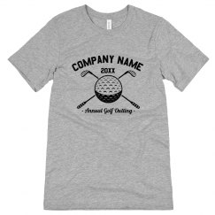 Custom Golfer Outing T-Shirt