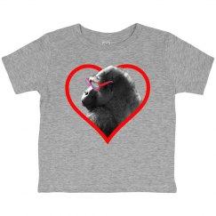 Gorilla Heart Toddler