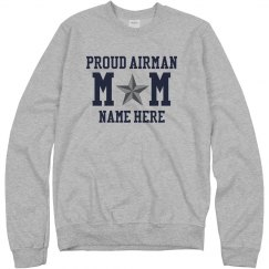 Custom Proud Airman Mom