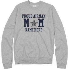 Custom Proud Airman Mom