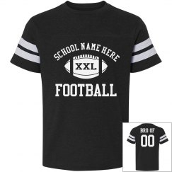 Custom Football Brother Shirts With Custom Backs
