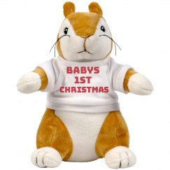 Babys'First Christmas Cuddly Toy
