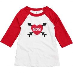 Matching Mom & Toddler Valentine