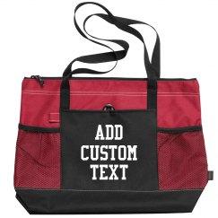 Create your Custom Zippered Tote Bag