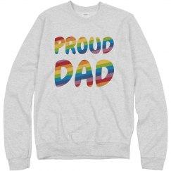 Gay Pride Proud Dad