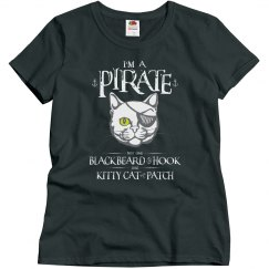 Funny Pirate Kitty