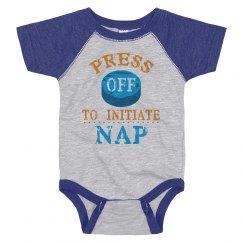 Press Off To Initiate Nap