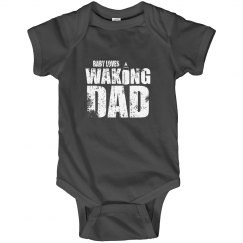 Funny Baby Loves Waking New Dad