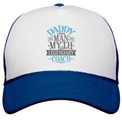 Daddy Man Myth Legendary Coach