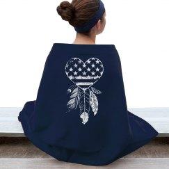 American Dreamcatcher Heart