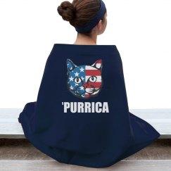 Purrica Murica Merica Cat Spoof