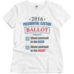2016 Election Shoot Head/Heart