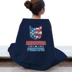 Ameowica Purrtiful Patriotic Cat