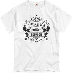 Customizable I Survived Reunion