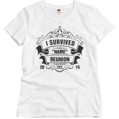 Customizable I Survived Reunion
