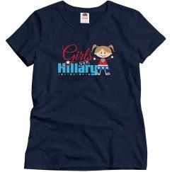 Cute Girls For Hillary Clinton