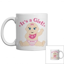 It's a Baby Girl