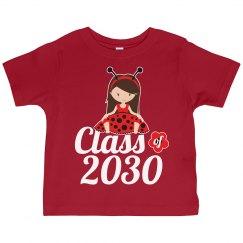 Class of 2030 Ladybug Girl