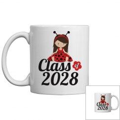 Class of 2028 Ladybug Girl