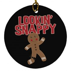 Lookin' Snappy Gingerbread Man