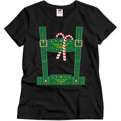 Christmas Elf Lederhosen