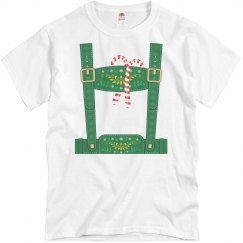 Christmas Elf Lederhosen