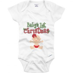 Baby Girl 1st Christmas