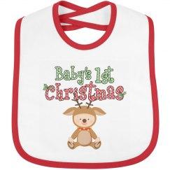 Baby Reindeer 1st Christmas