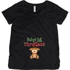 Baby Reindeer 1st Christmas Pregnancy Announcement