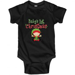 Baby Elf 1st Christmas