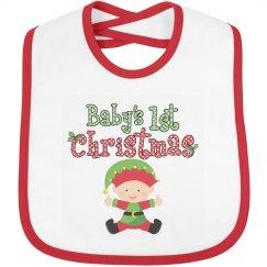 Baby Elf 1st Christmas