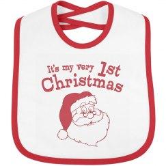 Retro Santa 1st Christmas