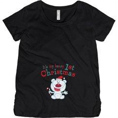 Polar Bear 1st Christmas Pregnancy Announcement