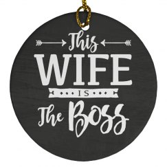 This Wife Is The Boss