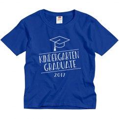 2017 Kindergarten Graduate Graduation Shirt